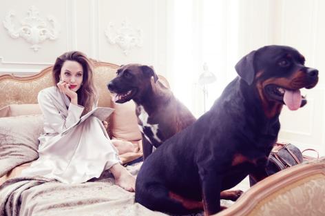 Angelina Jolie for ELLE US September 2019-5