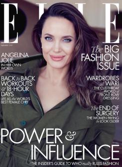 Angelina Jolie for ELLE US September 2019 Cover A