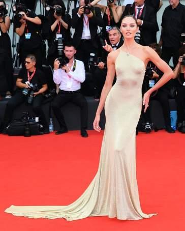 Candice Swanepoel in Etro