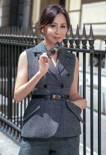 Carina Lau in Dior Fall 2019-2