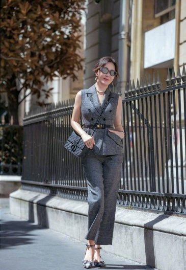 Carina Lau in Dior Fall 2019