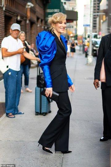 Cate Blanchett in Alexander McQueen Fall 2019-18