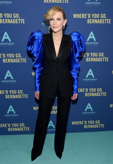 Cate Blanchett in Alexander McQueen Fall 2019-2