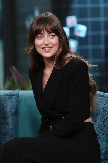 Dakota Johnson in Alessandra Rich Fall 2019-7