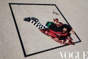 Du Juan for Vogue China September 2019-1