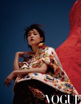 Du Juan for Vogue China September 2019-6