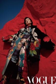 Du Juan for Vogue China September 2019-7