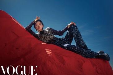 Du Juan for Vogue China September 2019-8