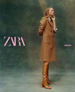 Gemma Ward ZARA Fall 2019 Campaign-6