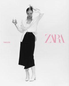 Gemma Ward ZARA Fall 2019 Campaign-7