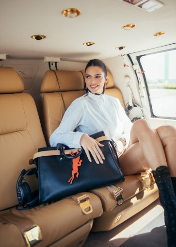 Kendall Jenner Longchamp La Voyageuse 2019 Campaign-1