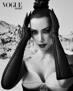 Kim Kardashian West Vogue Arabia September 2019-1