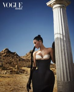 Kim Kardashian West Vogue Arabia September 2019-3