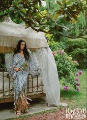 Lina Zhang & Bomi Youn & Tominaga Ai for Harper's Bazaar China September 2019-6