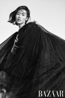 Liu Wen for Harper's Bazaar China September 2019-5