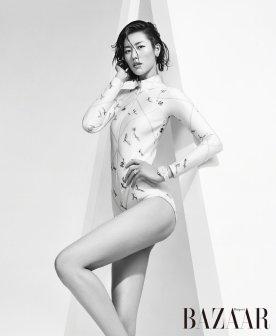 Liu Wen for Harper's Bazaar China September 2019-7