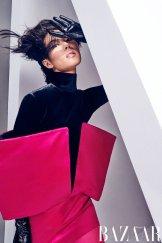 Liu Wen for Harper's Bazaar China September 2019-9