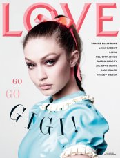 Love Magazine Fall Winter 2019 Cover-Gigi Hadid