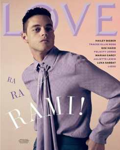 Love Magazine Fall Winter 2019 Cover-Rami Malek