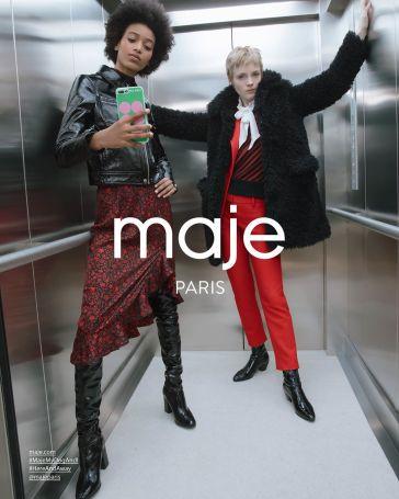 Maje Fall 2019 Campaign-7