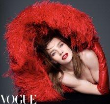Natalia Vodianova for Vogue China September 2019-1