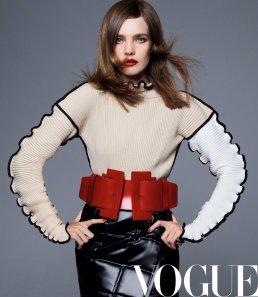 Natalia Vodianova for Vogue China September 2019-6