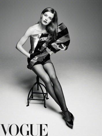 Natalia Vodianova for Vogue China September 2019-8