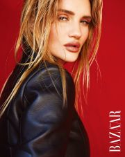 Rosie Huntington-Whiteley Harper's Bazaar Taiwan August 2019-1