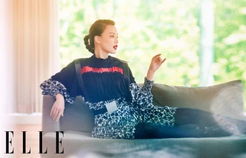 Shu Qi for ELLE China September 2019-2