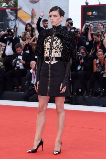 Stacy Martin in Louis Vuitton Resort 2020-2