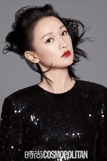Zhou Xun for Cosmopolitan China September 2019-1