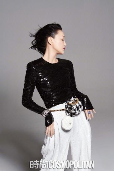 Zhou Xun for Cosmopolitan China September 2019-2