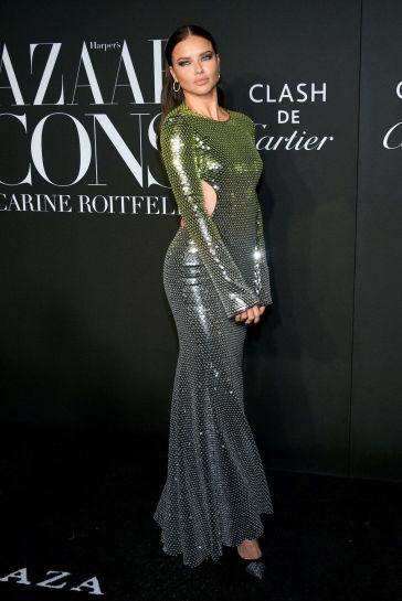 Adriana Lima in David Koma Spring 2019-6