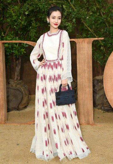 Angelababy in Dior Resort 2020-10