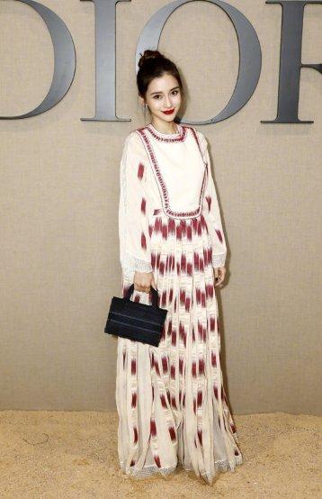 Angelababy in Dior Resort 2020-2