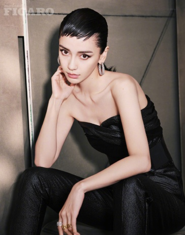Angelababy Madame Figaro China September 2019-8
