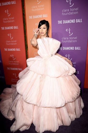 Cardi B in Georges Hobeika Fall 2019 Couture-5