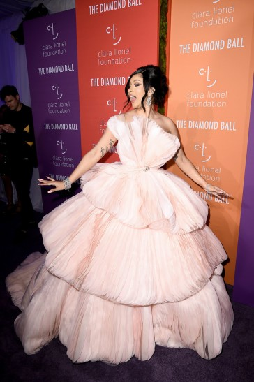 Cardi B in Georges Hobeika Fall 2019 Couture-7