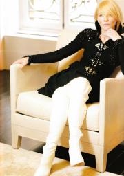 Cate Blanchett X Karl Lagerfeld Vogue Australia December 2003-12