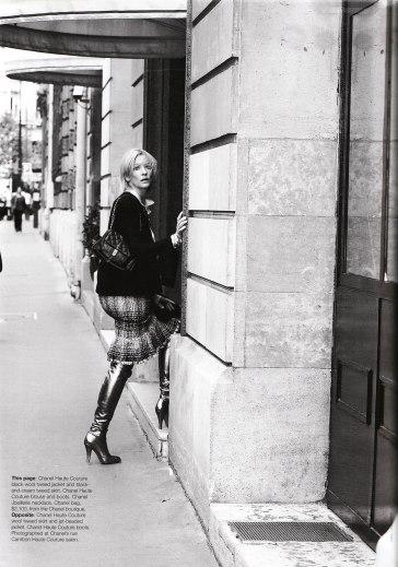 Cate Blanchett X Karl Lagerfeld Vogue Australia December 2003-13