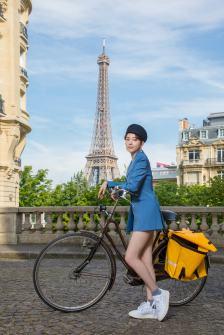 雪芙與嬌蘭的巴黎之旅_巴黎鐵塔1