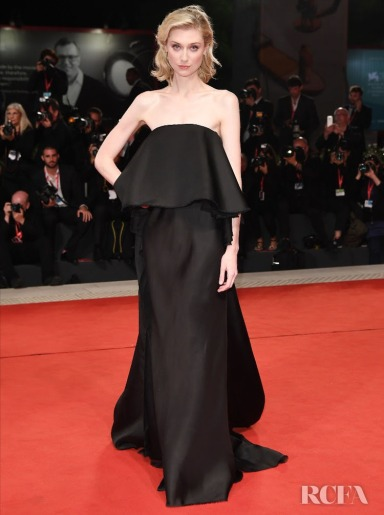 Elizabeth Debicki in Schiaparelli Fall 2019 Couture-1