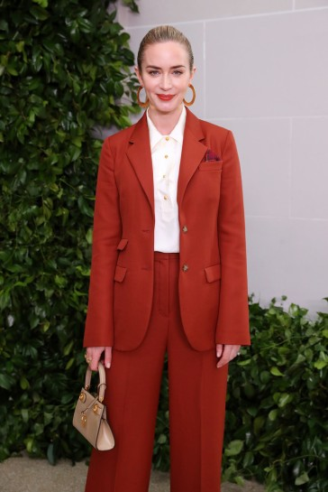 Emily Blunt in Tory Burch Spring 2020-2