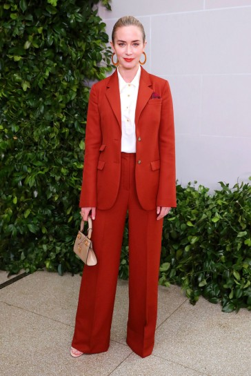 Emily Blunt in Tory Burch Spring 2020-7