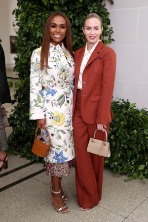Emily Blunt in Tory Burch Spring 2020-9