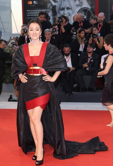Gong Li in Elie Saab Fall 2019 Couture
