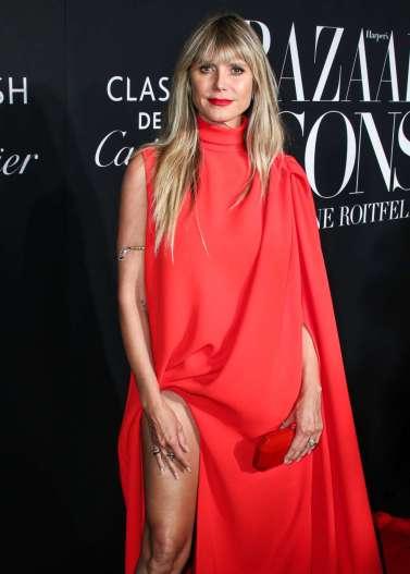 Heidi Klum in Stephane Rolland Fall 2019 Couture-1