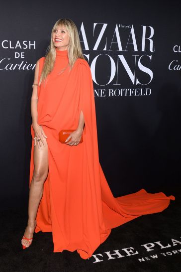 Heidi Klum in Stephane Rolland Fall 2019 Couture-6