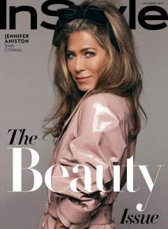 Jennifer Aniston for InStyle US October 2019 Cover B