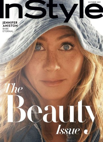 Jennifer Aniston for InStyle US October 2019 Cover C